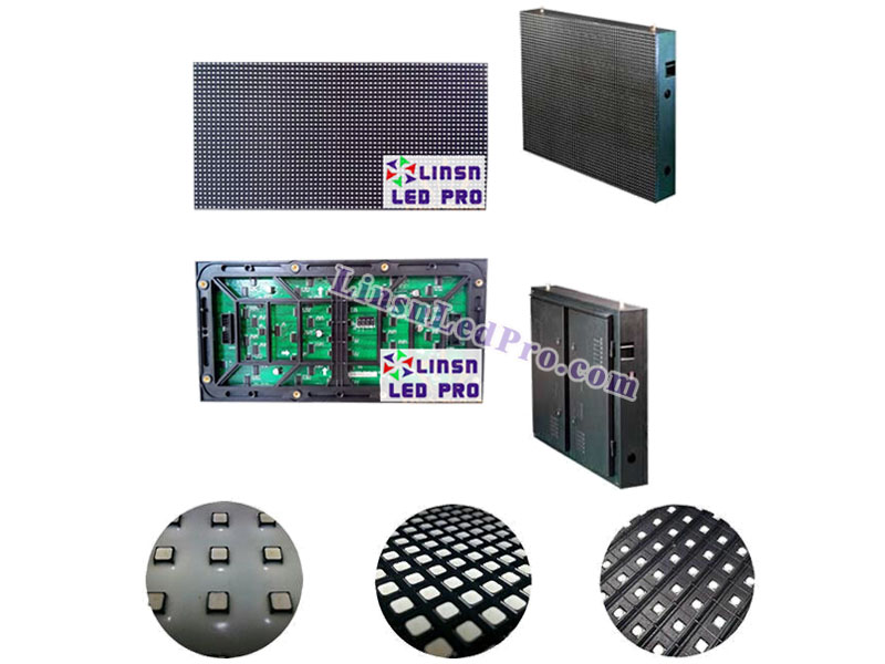 P4 SMD Outdoor HD LED Display Board