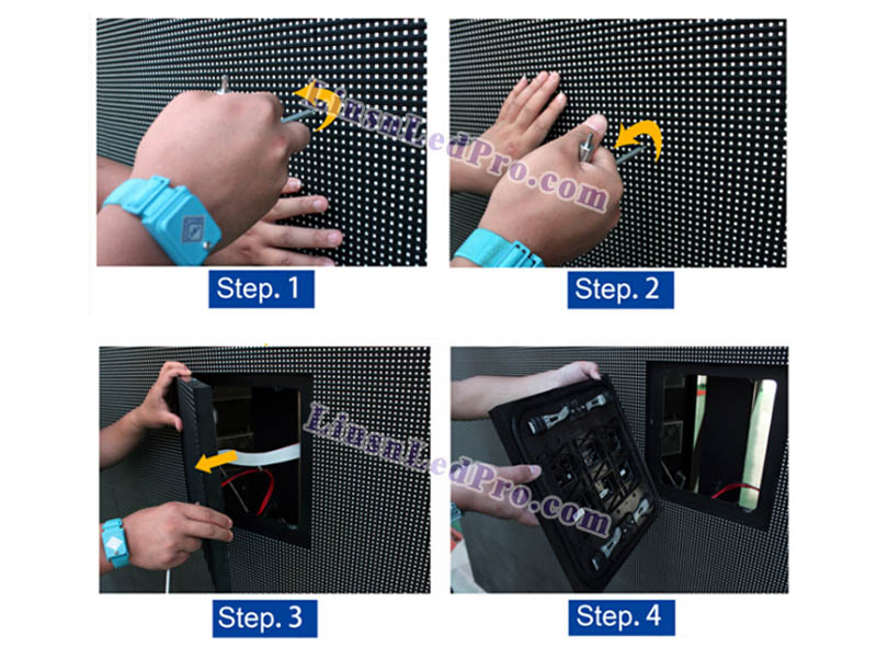 P8 Outdoor SMD​ Front Service LED Display Screen