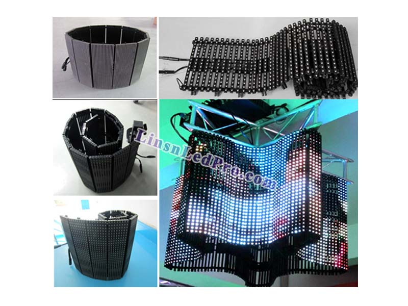 P20 SMD Outdoor Flexible LED Curtain Wall